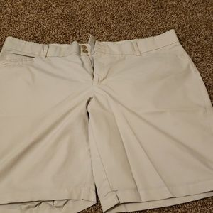 "Dockers Khaki ""walking"" shorts"